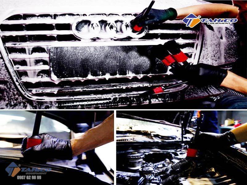 Bộ 5 cọ mềm vệ sinh nội ngoại thất xe dễ dàng sạch làm sạch xe nội thất, động cơ xe và các bộ phận nhỏ khác, với bàn chải mềm mại, không dễ dàng rụng lông.