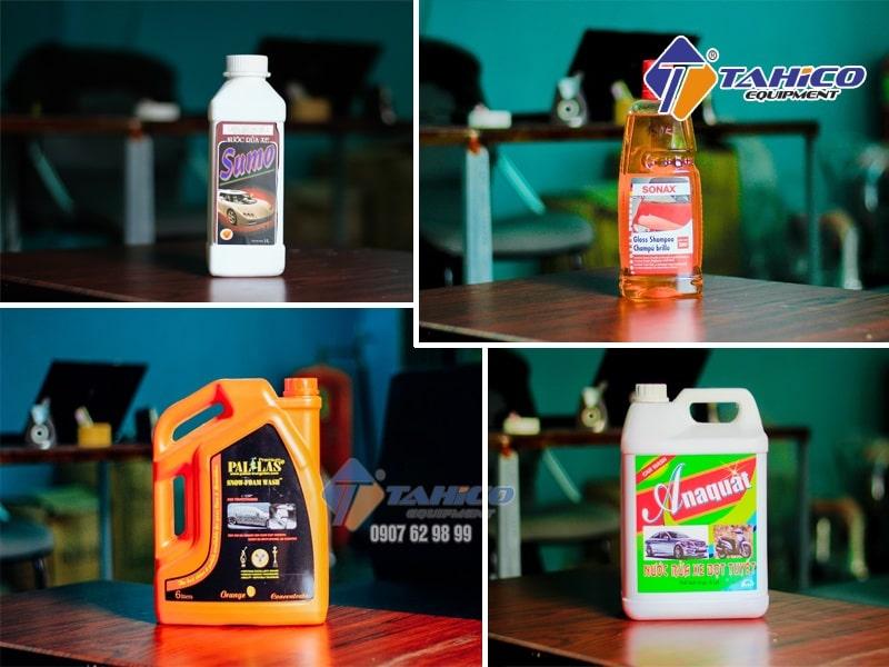 Một số loại dung dịch rửa xe máy phổ biến nhất hiện nay