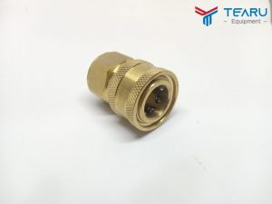 Đầu đồng nối nhanh cho dây cao áp rửa xe ren 3/8 inch