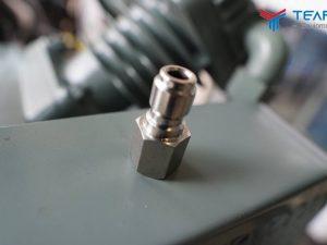 Đầu inox đầu đực nối vào chuôi súng rửa xe ren 1/4 inch