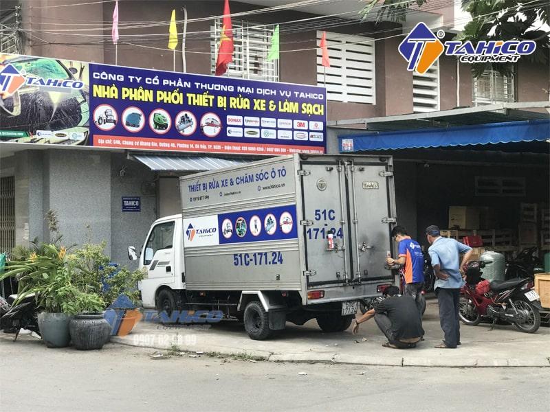 Địa chỉ cung cấp nước rửa xe chính hãng