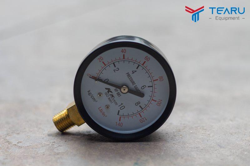 Đồng hồ áp lực bình bọt tuyết loại 40, 60 lít