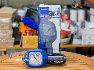 Đồng hồ đo áp suất và bơm lốp Air Force kích cỡ nhỏ gọn, dễ bảo quản, cất giữ