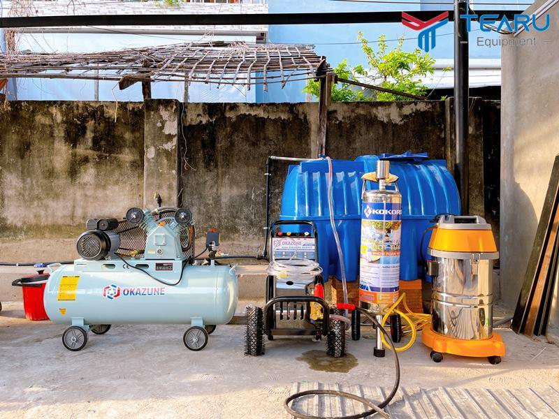 Bộ dụng cụ rửa xe ô tô chuyên nghiệp