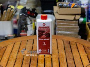 Dung dịch giảm nhiệt ( màu đỏ ) Maxrider Supper Coolant 1 lít giúp cho động cơ hoạt động tốt ở nhiều điều kiện khí hậu.