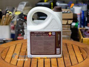 Dung dịch giảm nhiệt ( màu xanh ) Maxrider Engine Coolant 5 lít giúp chống giãn nở các chi tiết máy do nhiệt gây ra.