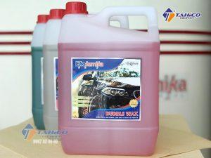 Dung dịch làm bóng, làm khô và bảo vệ thân xe Ekokemika Bubble Wax 5 lít