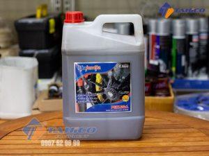Dung dịch làm sạch la zăng, ố kính và gầm xe Ekokemika Perlega 5 lít giúp loại bỏ các vết ố vàng do nước có nhiều sắt và các tạp chất trên xe ô tô