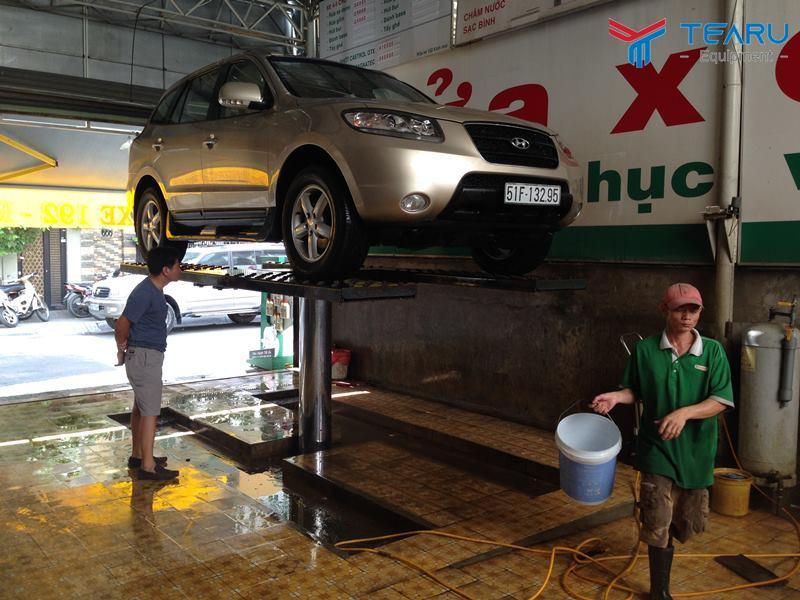 Mức giá ben nâng rửa xe ô tô có mức chênh lệch tùy vào sản phẩm