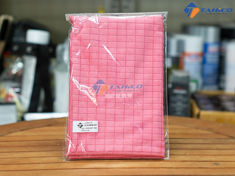 Khăn lau xe chuyên dụng microfiber 30x30 cm chất lượng 100% Microfiber