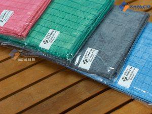 Khăn lau xe chuyên dụng microfiber 30x30 sử dụng để lau, vệ sinh các vật dụng khác trong gia đình