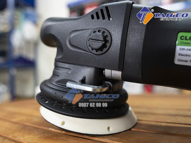 Máy đánh bóng lệch tâm DA Clover 15mm không làm thay đổi khả năng hoàn thiện của bề mặt