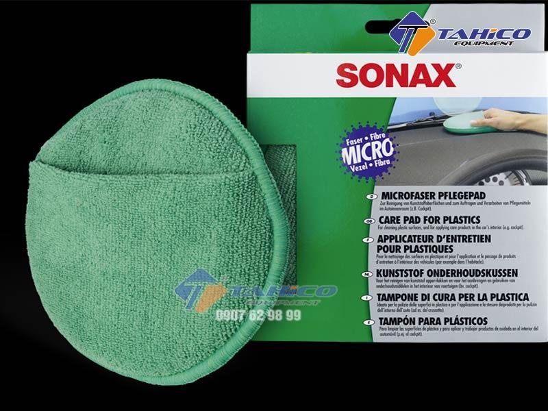 Mút vệ sinh lau nhựa nội thất ô tô Sonax