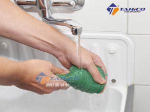 Dễ dàng giặt sạch sau khi dùng xong
