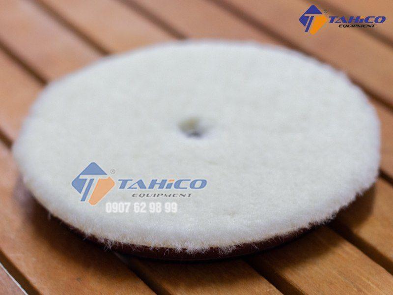 Phớt đánh bóng lông cừu 1 mặt 5 inch được làm từ sợi lông cừu