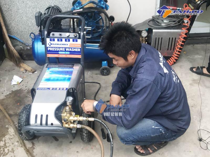 04 Lưu ý khi sử dụng và bảo dưỡng máy rửa xe cao áp