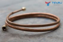 Dây đồng dẫn nhớt từ ống điều khiển đến ty ben nâng