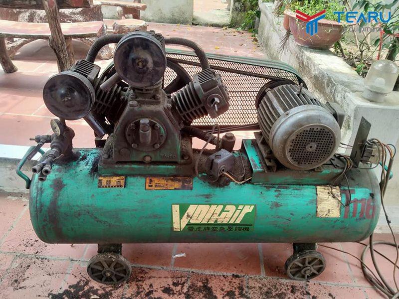 Tổng quan về máy bơm hơi cũ giá rẻ
