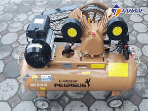 Máy nén khí dây đai Pegasus 2 cấp 3HP TM-V-0.25/12.5-180L được sản xuất trên dây chuyền hiện đại, kiểm tra chất lượng kỹ càng, đáp ứng được nhu cầu khách hàng