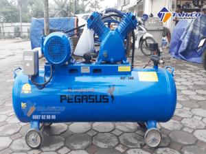 Máy nén khí dây đai Pegasus 4HP dùng điện 1 pha TM-W-0.36/8-180L sở hữu áp lực làm việc 8 Kg/cm2 và công suất 4HP, nên dòng máy này có thể đảm nhận tốt các công việc được đề ra.