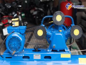 Máy nén khí dây đai Pegasus 4HP dùng điện 1 pha TM-W-0.36/8-100L hoạt động bền bỉ, ít hỏng nên và độ ồn cực thấp nên máy được ứng dụng rộng rãi trong nhiều lĩnh vực