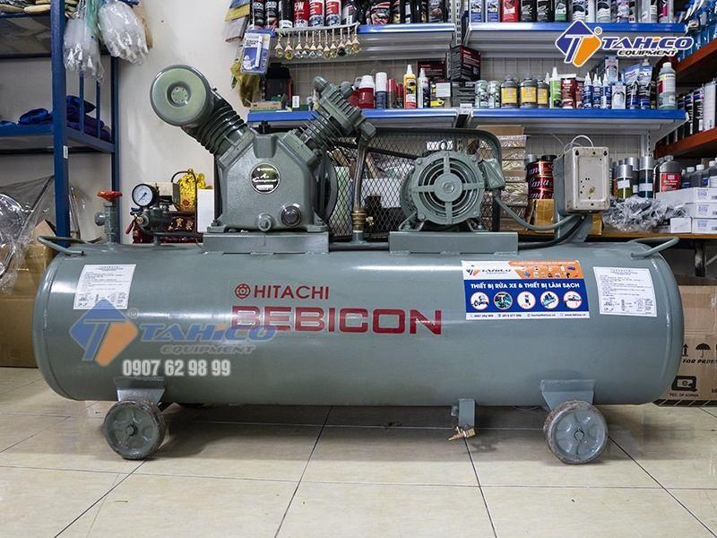 Máy nén khí Piston 10 HP 7.5P-9.5V5A được nhập khẩu trực tiếp từ Nhật Bản 100%, không qua trung gian nên có giá thành vô cùng phải chăng