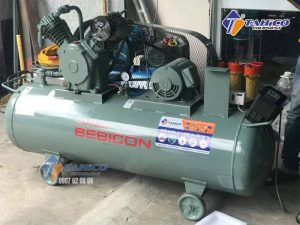 Máy nén khí Piston 10 HP 7.5P-9.5V5A được nhập khẩu trực tiếp từ Nhật Bản 100%