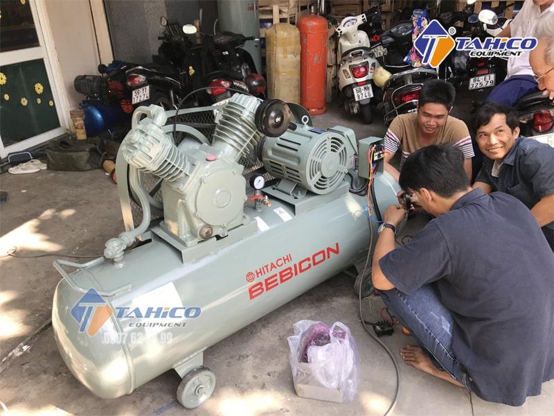 Máy nén khí Piston 2HP 1.5P - 9.5V5A được thiết kế để đảm bảo an toàn trong quá trình sử dụng