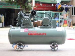 Máy nén khí Piston 7.5 HP 5.5P - 9.5V5A được thiết kế để đảm bảo an toàn trong quá trình sử dụng