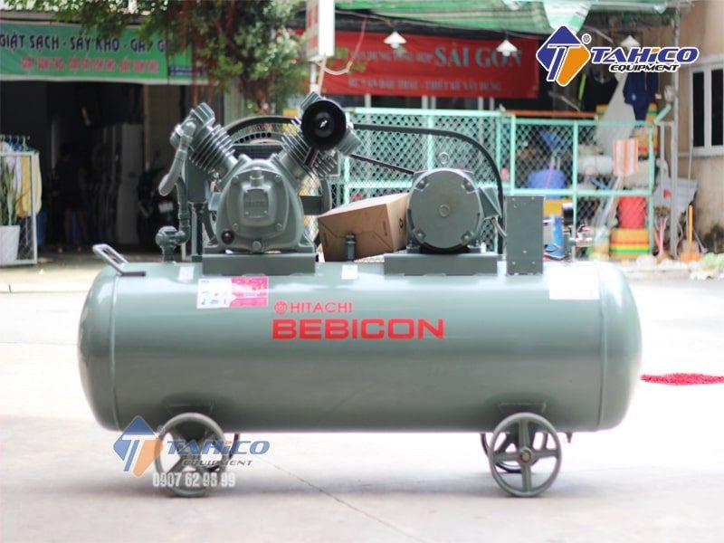 Máy nén khí Piston không dầu 5HP 3.7OP-9.5G5A hoàn toàn không có chất bôi trơn nên chất liệu dùng phải chịu được nhiệt tốt, chống mòn tốt.