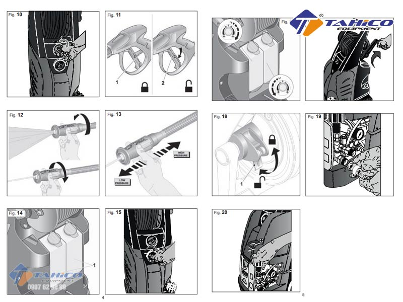 Cách lắp ráp máy rửa xe IPC PW-C25 đơn giản