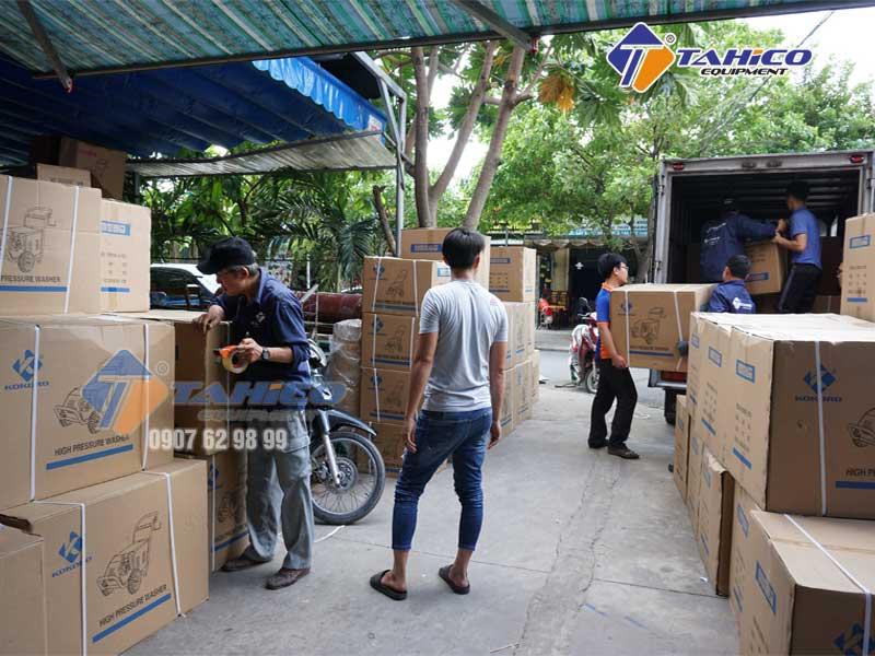Chuyển máy rửa xe KOKORO đến 3 miền Bắc, Trung, Nam