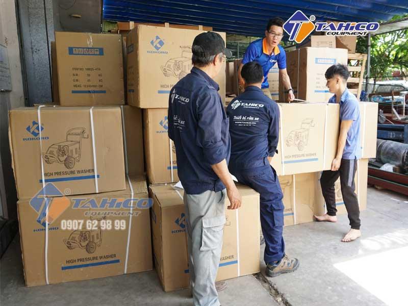Hàng đã nhập kho tại công ty Tahico