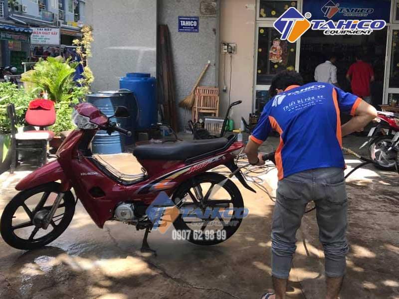 Kokoro LT-16MB thích hợp làm việc ở các trạm rửa xe quy mô nhỏ