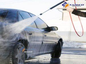 Máy rửa xe cao áp Kokoro LT-17MB có các linh kiện như súng phun, dây dẫn được làm bằng chất liệu cao cấp có độ bền cao