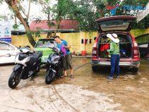Mở tiệm rửa xe máy cần bao nhiều vốn?