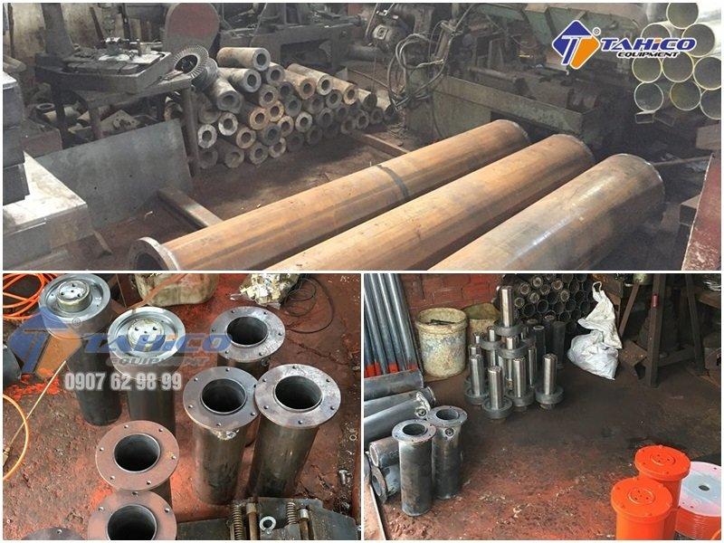 Xưởng sản xuất ben nâng rửa xe máy TAHICO