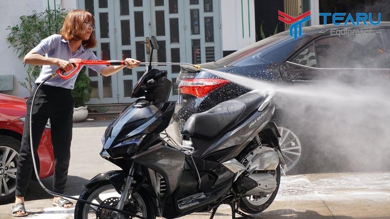Máy rửa xe honda nên dùng máy cao áp
