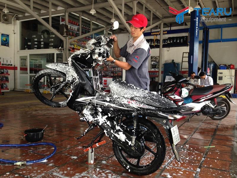Kinh nghiệm mở tiệm rửa xe máy cho người mới làm