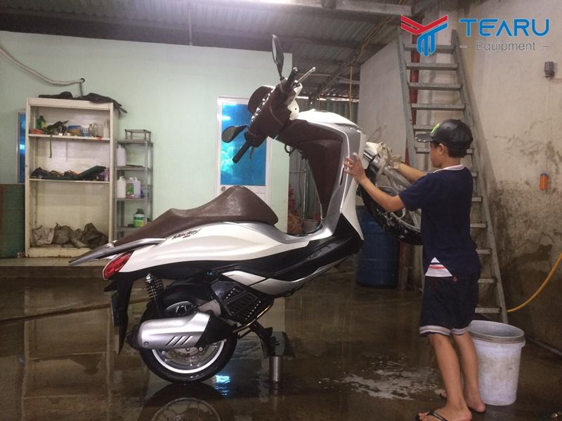 Rửa xe máy không cần đăng ký kinh doanh