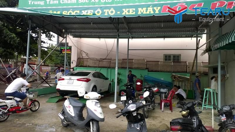 TEARU chuyên tư vấn mở tiệm rửa xe máy cho nhà đầu tư