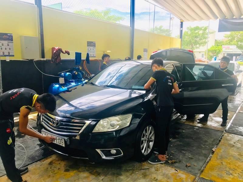 Bài toán kinh doanh rửa xe