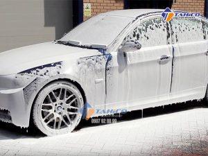 Dùng cho máy xịt bọt rửa xe, có thể rửa được 50 xe/1 lít sản phẩm.