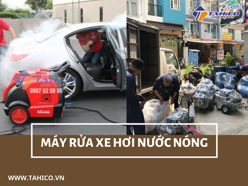 Máy rửa xe cao áp hơi nước nóng