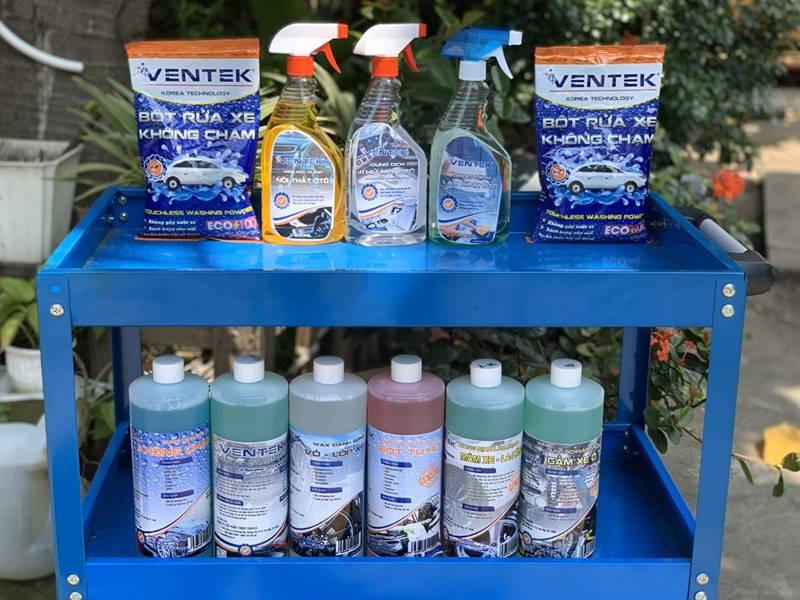 Hóa chất rửa và chăm sóc xe chuyên nghiệp