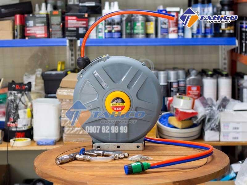 Cuộn dây đôi tự thu kết hợp khí + nước công nghệ rửa xe Nhật Bản