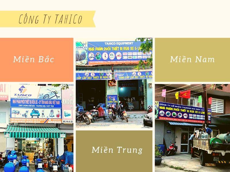 Công ty Tahico tại 3 miền