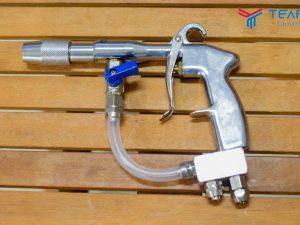 Súng mix rửa xe kết hợp khí nén và nước
