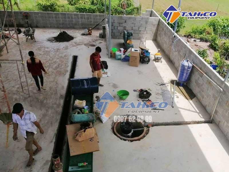 Thi công lắp đặt công trình Anh Phát - Bình Thuận