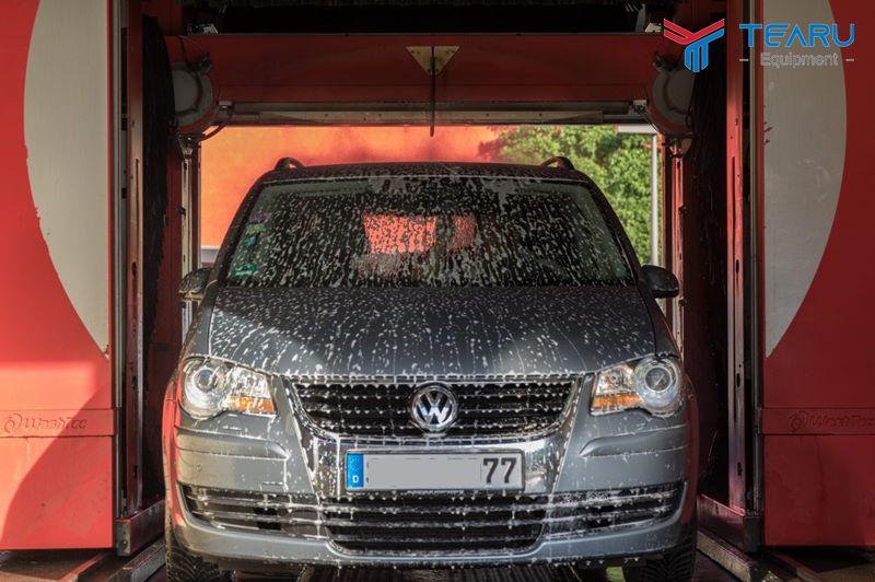 Mô hình kinh doanh hệ thống rửa xe thông minh